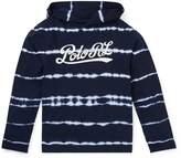 Ralph Lauren Tie-Dye Cotton Hooded T-Shirt