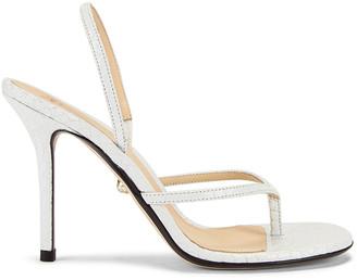ALEVÌ Milano Ivy Sandal in Snake White | FWRD