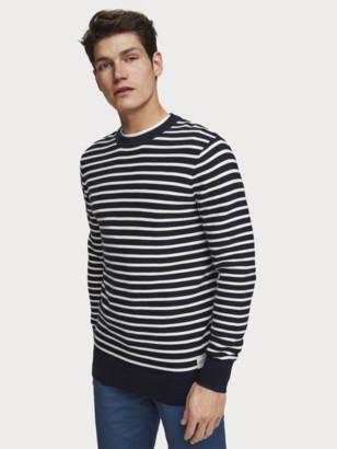 Scotch & Soda Structured Stripe Sweater | Men