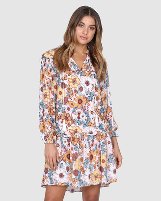 Lost in Lunar - Women's Multi Mini Dresses - Dixie Mini Dress - Size One Size, 8 at The Iconic