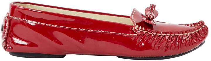 Marc Jacobs Red Leather Flats