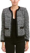 The Kooples Tweed Wool-Blend Blazer