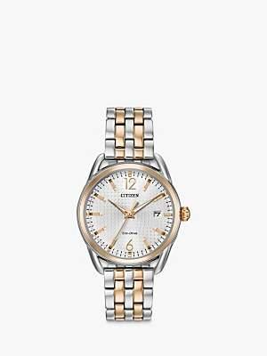 Citizen Women's Silhouette Eco-Drive Date Bracelet Strap Watch