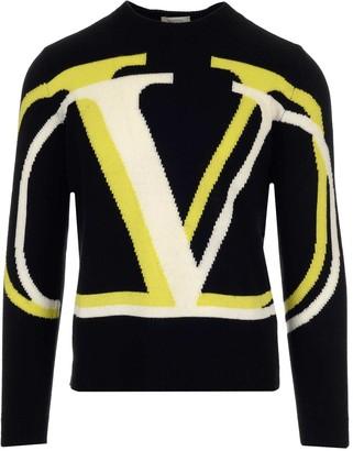 Valentino VLOGO Crew Neck Sweater