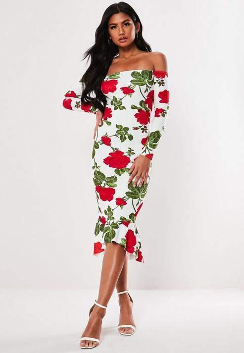 708c904a1153 Missguided Midi Dresses - ShopStyle