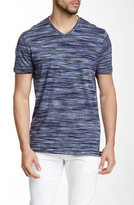 Perry Ellis Space Dye V-Neck Tee