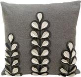Asstd National Brand Idea Nuova White Florals Decorative Pillow