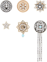 Accessorize Military Metal Brooch Pack