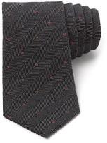 Paul Smith Dots On Herringbone Tie