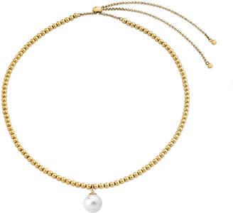 Majorica Adjustable Pearly-Drop Bead Necklace