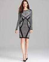 Nicole Miller Artelier Dress - Double Knit Leopard Print