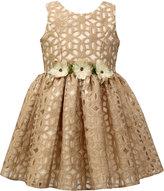 Jayne Copeland Floral Burnout Special Occassion Dress, Toddler Girls (2T-5T)