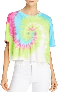 Pam & Gela Tie-Dyed Cropped Tee