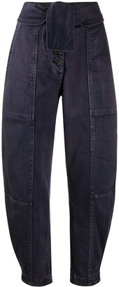 Ulla Johnson Storm high-rise loose-fit jeans