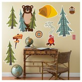 BuySeasons Let's Go Camping Giant Wall Decal