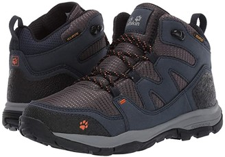 Jack Wolfskin Kids Mountain Attack 3 Texapore Mid (Toddler/Little Kid/Big Kid) (Night Blue) Boys Shoes