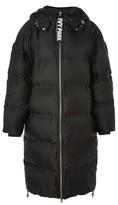 Ivy Park Women's Longline Bonded Puffer Jacket