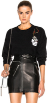 Saint Laurent Badge Mohair Pullover