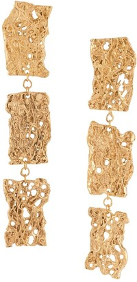 LOVENESS LEE 18kt Yellow Gold Plated Sterling Silver