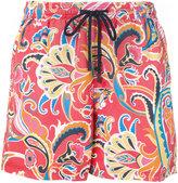 Etro floral print swim shorts - men - Nylon - L