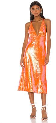 Song of Style Irena Midi Dress