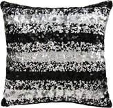 Nourison Sequin Stripes Pillow