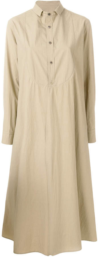 Y's oversized shirt dress