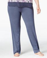 DKNY Plus Size Knit Pajama Pants