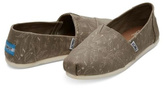 Toms Foil Feather Flats