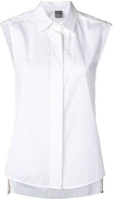 Lorena Antoniazzi sleeveless fitted blouse