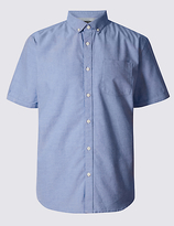 Limited Edition Pure Cotton Slim Fit Oxford Shirt