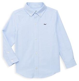 Vineyard Vines Little Boy's & Boy's Long Sleeve Cotton Shirt
