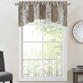 JCPenney PERFECT PAIR Richloom Clayton Rod-Pocket Arch Valance