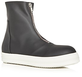 Rick Owens Men's Zip High Top Sneakers