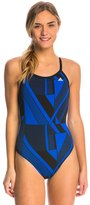 adidas Women's Sport DNA Vortex Back One Piece Swimsuit 8150196