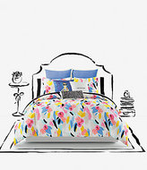 Kate Spade Paintball Floral Comforter Mini Set