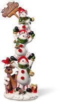 National Tree Co 12i Snowmen Dcor Piece