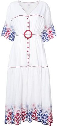 Gül Hürgel Long Embroidered Dress