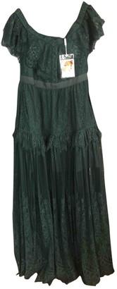 Self-Portrait Green Lace Dress for Women