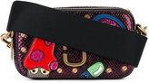 Marc Jacobs embellished patch crossbody bag