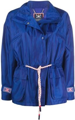 Elisabetta Franchi Belted Casual Jacket