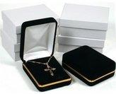 FindingKing 4 Pendant Chain Gift Boxes Display Black Velvet