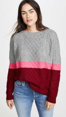 Jumper 1234 3 Color Aran Cashmere Sweater