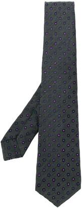 Kiton Dot-Jacquard Tie