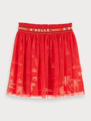 Scotch & Soda Layered Tulle Skirt   Girls