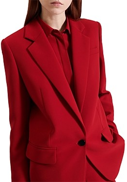 Barbara Bui Tailored Crepe Blazer