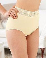 Bali Women's Lingerie Lacy Skamp Brief Panty Women's Brief Panties