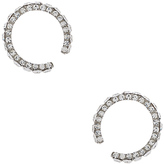 Magda Butrym Small Zirconia Earrings