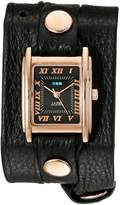 La Mer Women's LMSTW5003 Rose Gold Simple Wrap Watch