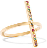 Ileana Makri 18-karat Gold Diamond And Multi-stone Ring - 52